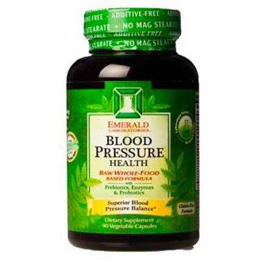 Emerald Laboratories Blood Pressure Health Veg Capsules, 90 Count