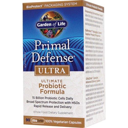garden of life primal defense ultra ultimate probiotics formula 90 vcaps
