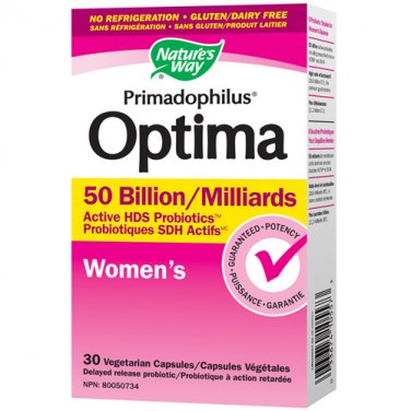Nature Way Primadophilus Optima Women's 30 Vegetable Caps LOWEST PRICE Free US Shipping