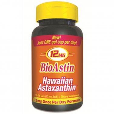 Nutrex Bioastin 12 mg 50 Gel Caps Hawaiian Astaxanthin