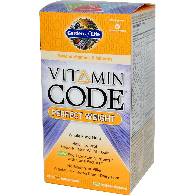 Garden of Life Vitamin Code Perfect Weight 120 UltraZorbe Vegetarian Capsules