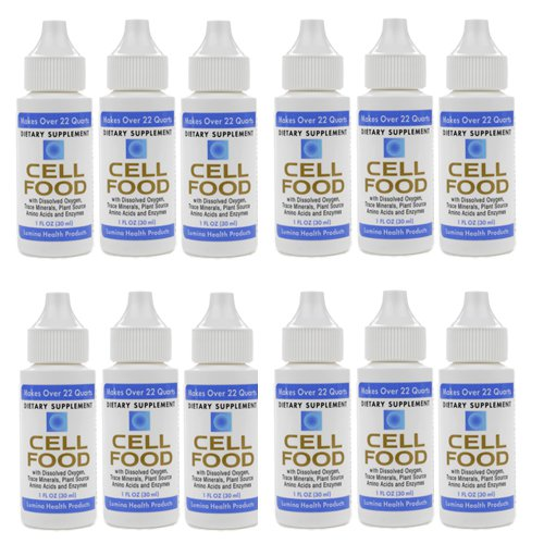 12 Pack - Cellfood Original by Lumina Health, 1oz each