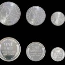 Fractional Silver Indian Head set, 1/2 oz, 1/4 oz, & 1/10 oz coins, .999 Fine