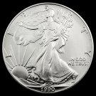 1990 Silver American Eagle 1 Troy Ounce Bullion Coin