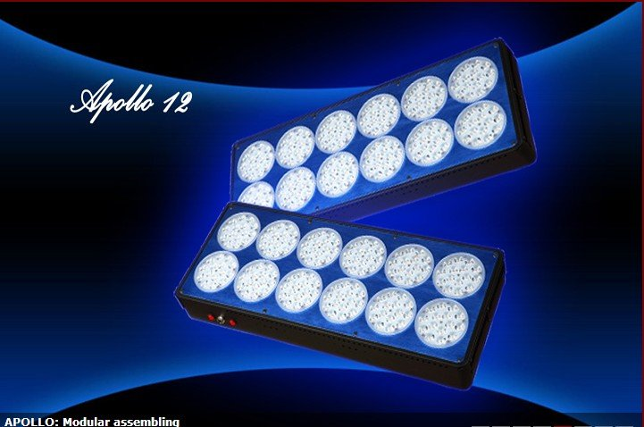 Apollo-12 Hydro Plant LED grow light for indoor garden