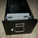 New Hon Vertical File Cabinet Letter Size Black Drawer