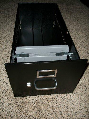 New Hon Vertical File Cabinet Letter Size Black Drawer