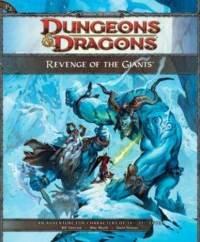 Revenge of the Giants (Hardcover) NM
