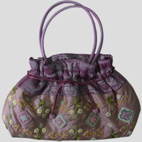 Stand Out In The Crowd With This Unique And Fabulously Handcrafted Silk Shoulder Bag