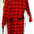 Vintage Plaid Dress