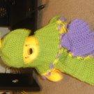 caterpillar scarf/hat & mittens