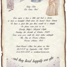 Wedding Scroll Invitations Cinderella Enchantment Pakge