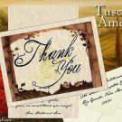 Tuscan Amore Italian Thank You Cards and Envelopes
