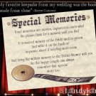 Hollywood Movie Wedding Favors Special Memories Cards