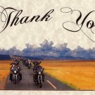 Biker Mortorcycle Wedding Favors Thank You Cards