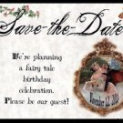 Storybook Fairy Tale Wedding Favors Save The Date Post