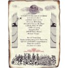 Macabre Graveyard Halloween Party Scroll Invitations