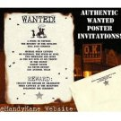 Wedding Invtations Cowboy Western Texas Scrolls party