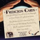 Hollywood Movie Wedding Favor Prediction Cards qty 50