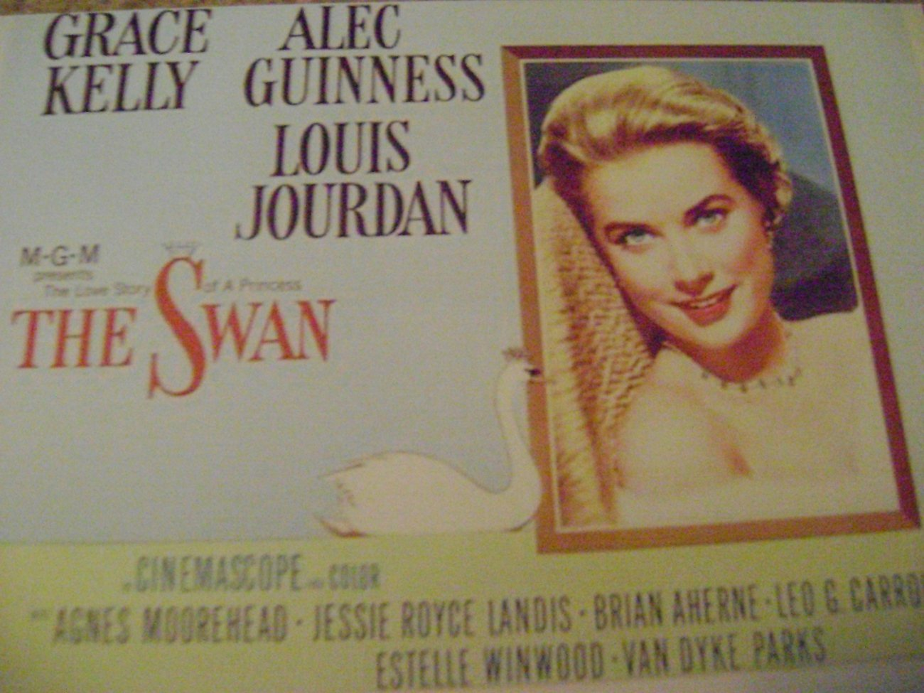 "The Swan 1950's Movie Card 2x3"" Grace Kelly"