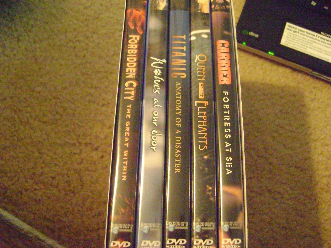 Discovery Channel DVD Set