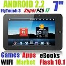 7 Inch FlyTouch 3 Superpad i7 Android 2.2 Tablet PC