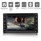 6.2 Inch Digital Touchscreen 2Din Car DVD Player with GPS Bluetooth TV