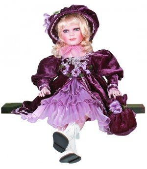 "26"" Collectible Porcelain Baby Girl Doll_CYNTHIA_D26-2039"
