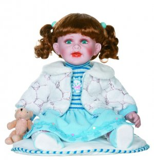 """24"""" Collectible Porcelain Doll_ISABELLA_D24-1055"""