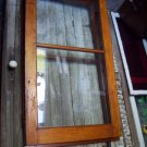 Antique Distorted Glass Cabinet Doors