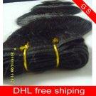 Virgin Brazilian Human Remy Hair Extensions Body Wave 24Inch 12OZ 3pks dark Brown