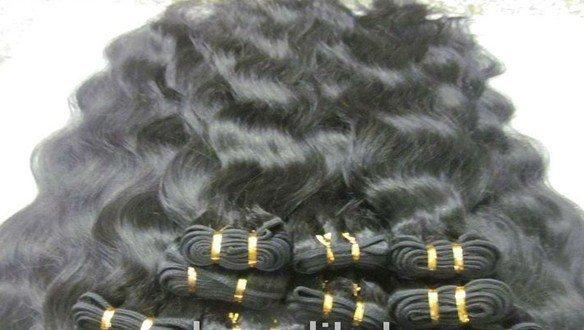Virgin Brazilian Human Remy Hair Weaving body Wave 22Inch 8OZ 2pks dark Brown