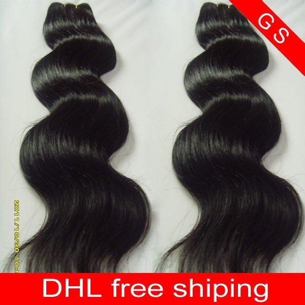 Virgin Brazilian Human Remy Hair Weaving body Wave 26Inch 8OZ 2pks dark Brown