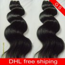 Virgin Brazilian Human Remy Hair Weaving body Wave 26Inch 8OZ 2pks dark Brown