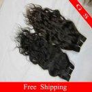 Virgin Brazilian Human Remy Hair Weft Curly 12Inch 12OZ 3pks off Black