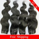 Virgin Brazilian Human Remy Hair Weft body Wave 18Inch 12OZ 3pks  off Black