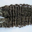 Virgin Brazilian Human Remy Hair Weave Curly 20Inch 8OZ 2pks off Black
