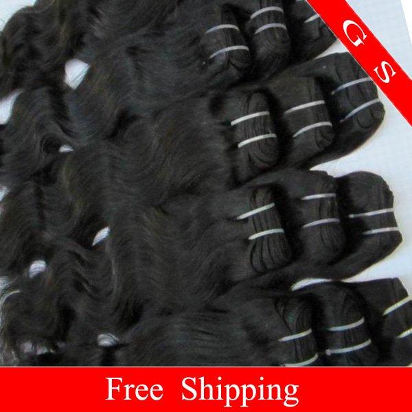 Virgin Brazilian Human Remy Hair Extensions body Wave 14Inch 12OZ 3pks dark Brown