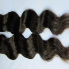 Virgin Brazilian Human Remy Hair Extensions Body Wave 20Inch 12OZ 3pks dark Brown
