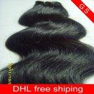 Virgin Brazilian Remy Human Hair Weave body Wave 16inch 2pks,8oz, dark Brown