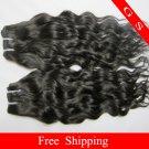 "Free shipping Top Quality Brazilian Human Hair Weft water Wave 22"" 12oz Retail"
