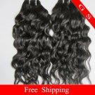 "AAAA Quality Brazilian Human Hair Weave water Wave 16"" 12oz Retail"