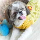 Dog sweater Handmade Crochet Pet Clothing D814 XS