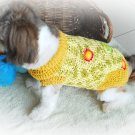 Dog Sweater Medium Dog Size, Handmade Dog Clothing D814 M