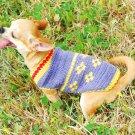Dog Dress handmade flower Spring Dog Costume D818 XS - Free shipping