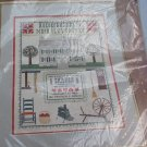 Shaker Sampler 14 Ct Counted Cross Stitch KIT BY PATRICIA GASKIN BERNAT H04185