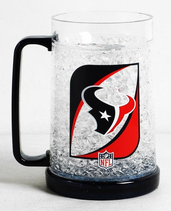 Houston Texans 16oz Crystal Freezer Mug