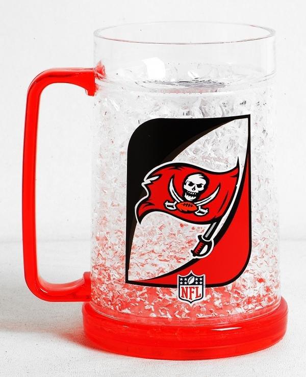 Tampa Bay Buccaneers 16oz Crystal Freezer Mug