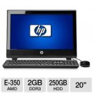 "HP 100B (XZ812UT#ABA) 20"" All-in-One PC"