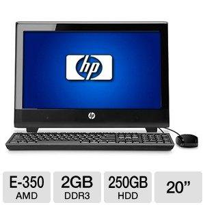 "HP 100B (XZ812UT#ABA) 20"" All-in-One PC"